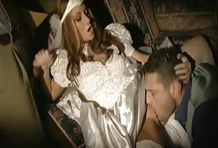 La sposa ha voglia di scopare