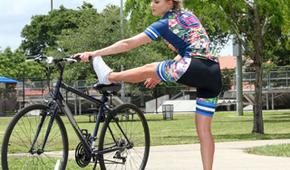 Il massaggio dopo un giro in bici