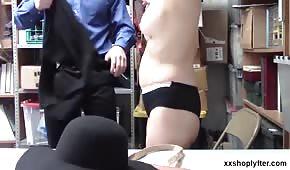 Sesso nella parte posteriore con due sfumature