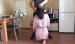 Sesso anale con la padrona di casa