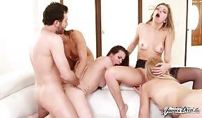 Porno di gruppo con donne sexy